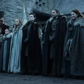 The Starks Leaving Winterfell  is listed (or ranked) 8 on the list The Objectively Worst Decisions Made On 'Game Of Thrones'