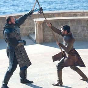 Oberyn Mocking The Mountain Du is listed (or ranked) 1 on the list The Objectively Worst Decisions Made On 'Game Of Thrones'