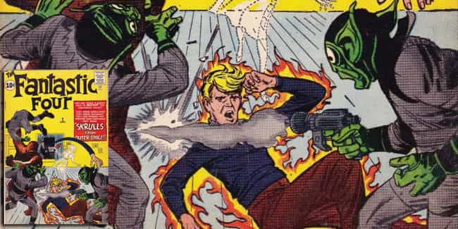 The Skrulls Have A Fantastic C... is listed (or ranked) 1 on the list The Questionable Comic Book History Of The Skrulls