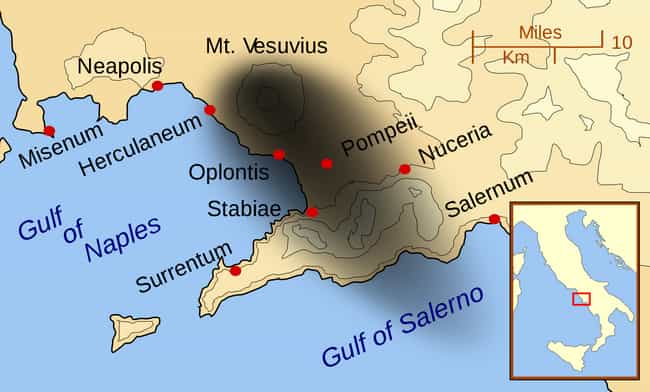 Midday Of August 24, 79 ... is listed (or ranked) 4 on the list A Timeline Of Pompeii's Life, Destruction, And Afterlife