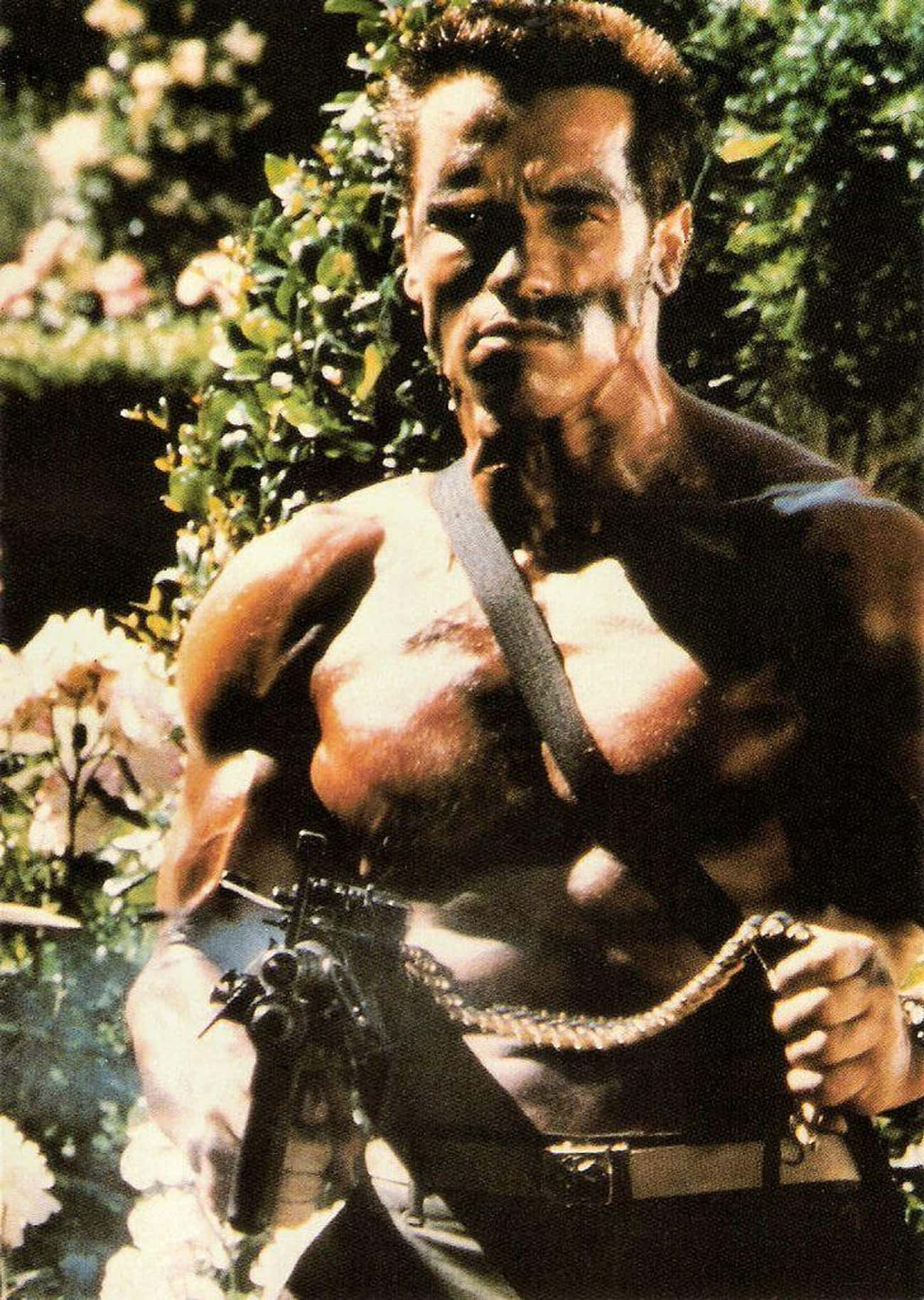 Schwarzenegger Agreed To Star  is listed (or ranked) 1 on the list Behind-The-Scenes Stories From The Making Of 'Commando'