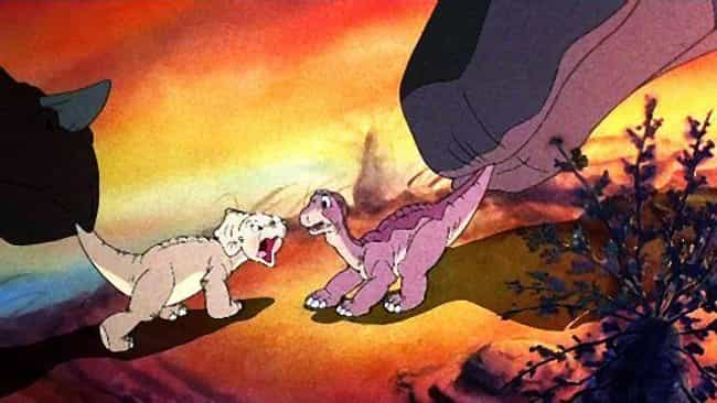 There Are Strong Sociopolitica... is listed (or ranked) 4 on the list 'The Land Before Time' Is One Of The Most Traumatic Cartoons Ever Made