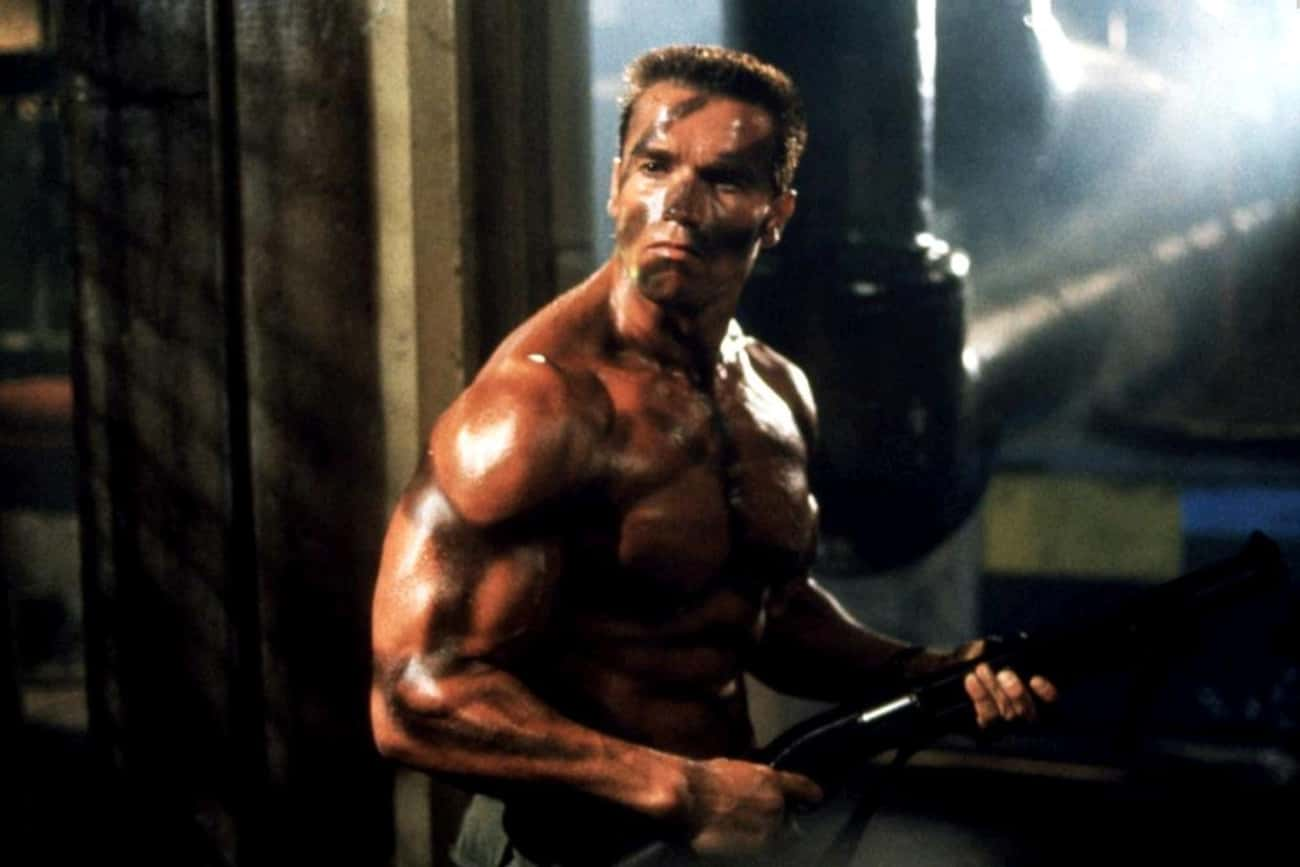 Schwarzenegger Performed His O is listed (or ranked) 3 on the list Behind-The-Scenes Stories From The Making Of 'Commando'