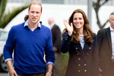 Prince William And Catherine,  is listed (or ranked) 1 on the list The Cutest Royal Couples, Ranked