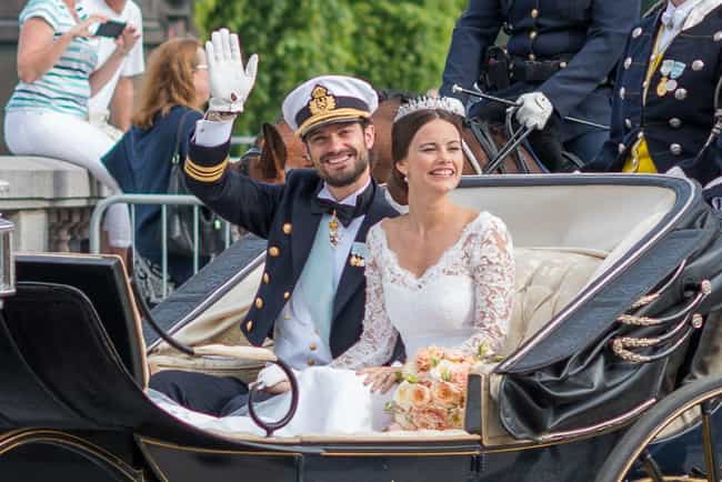 Prince Carl Philip And P... is listed (or ranked) 2 on the list The Cutest Royal Couples, Ranked