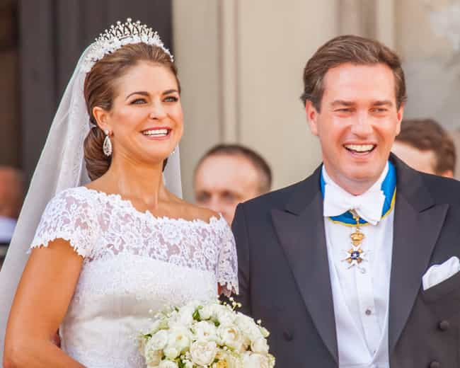 Princess Madeleine And Christo... is listed (or ranked) 8 on the list The Cutest Royal Couples, Ranked