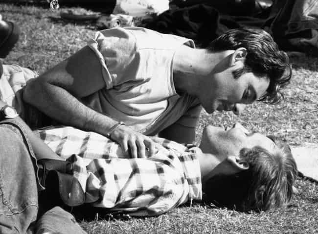 A Tender Moment At A Gay Pride... is listed (or ranked) 12 on the list Heartwarming Photos Of Same Sex Couples Throughout History