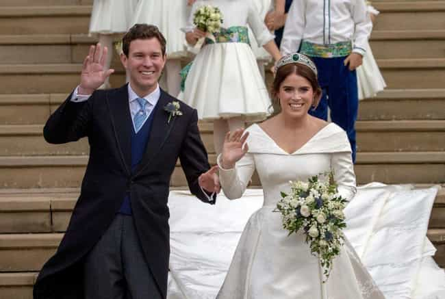 Princess Eugenie And Jack Broo... is listed (or ranked) 7 on the list The Cutest Royal Couples, Ranked