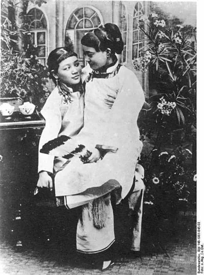 A Couple In A Greenhouse, Chin... is listed (or ranked) 6 on the list Heartwarming Photos Of Same Sex Couples Throughout History