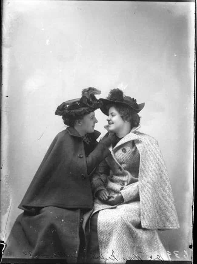 Miss M. R. Griffith And Miss M... is listed (or ranked) 1 on the list Heartwarming Photos Of Same Sex Couples Throughout History