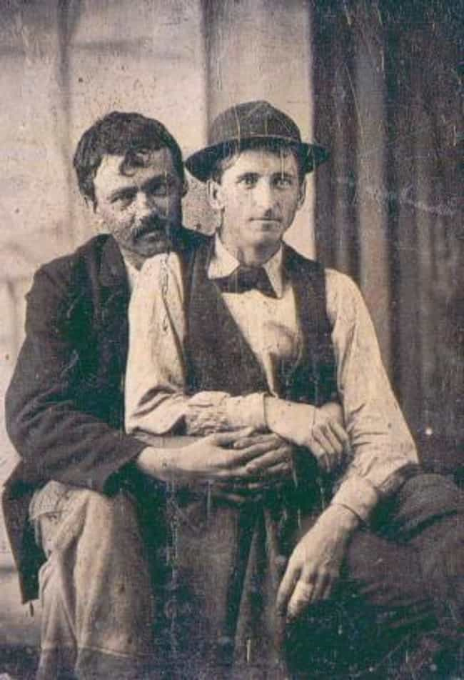 A Couple On Valentine's Day, 1... is listed (or ranked) 10 on the list Heartwarming Photos Of Same Sex Couples Throughout History