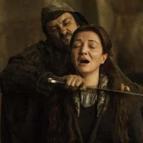 Robb And Catelyn Fall At The Red Wedding