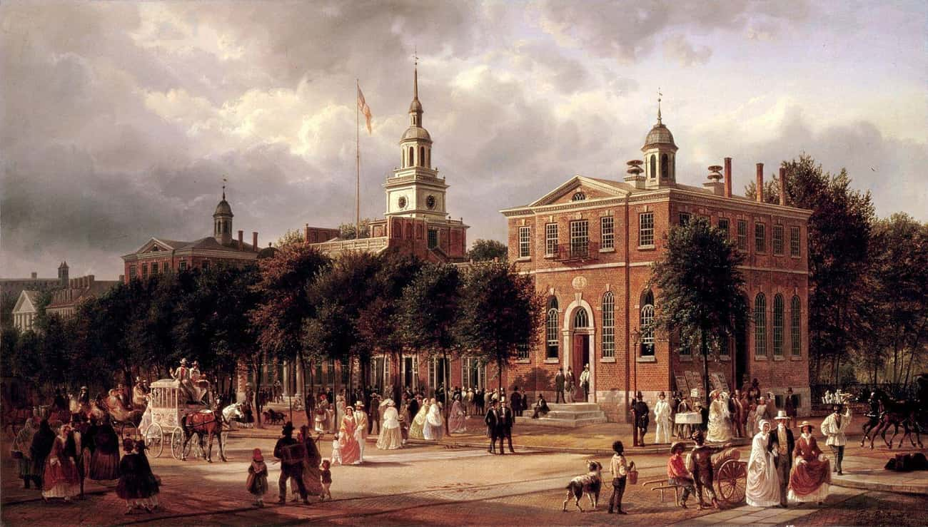 Many Abandoned The City When T is listed (or ranked) 3 on the list Here's How The Founding Fathers Reacted When A Deadly Epidemic Struck Their New Capital