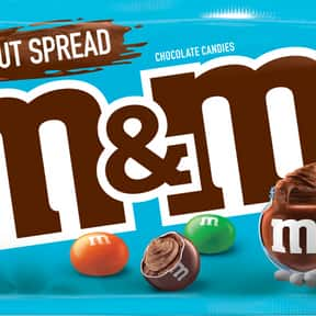 Hazelnut Spread M&Ms is listed (or ranked) 17 on the list The Best Flavors of M&Ms