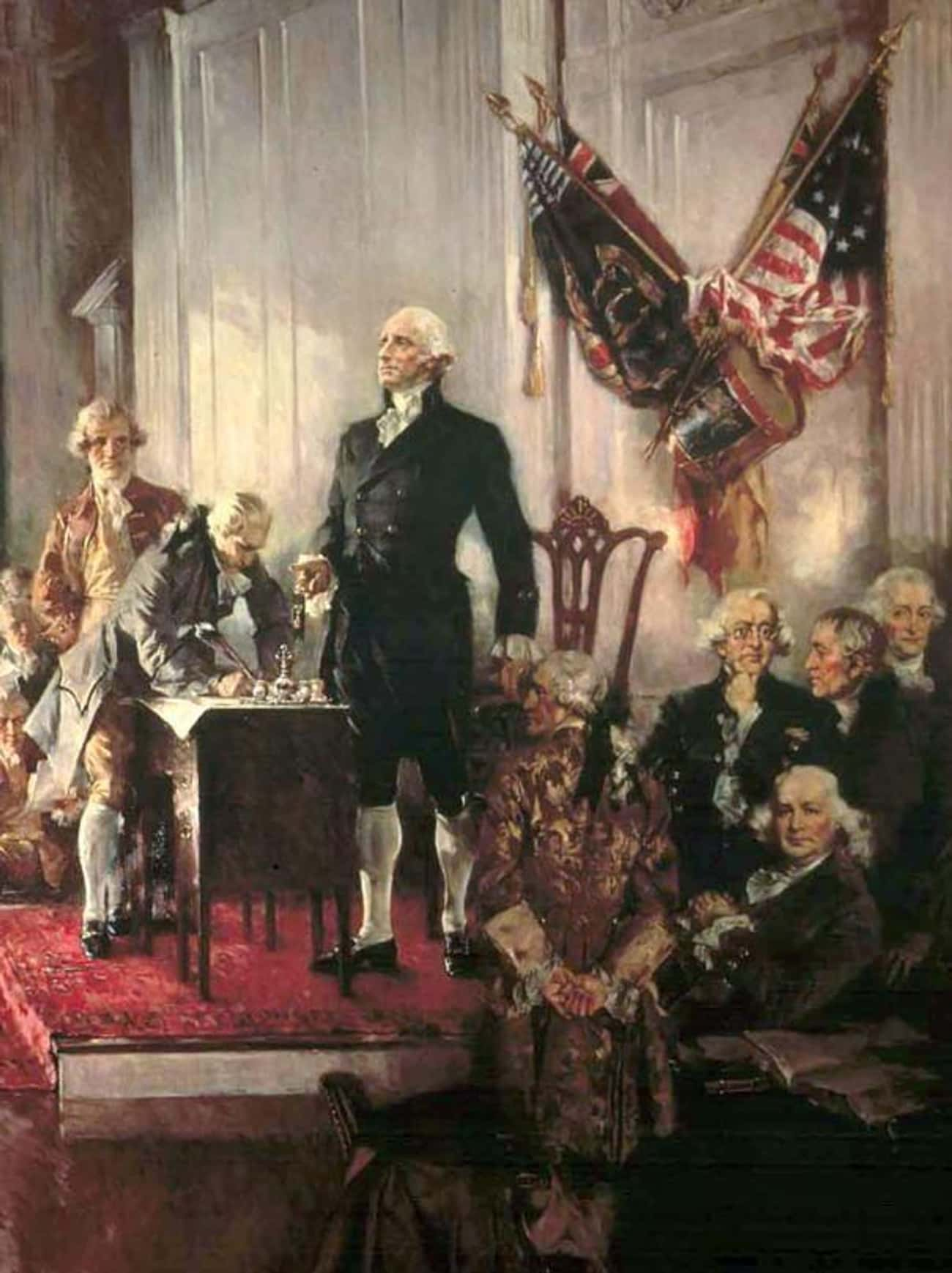 George Washington And Thomas J is listed (or ranked) 4 on the list Here's How The Founding Fathers Reacted When A Deadly Epidemic Struck Their New Capital