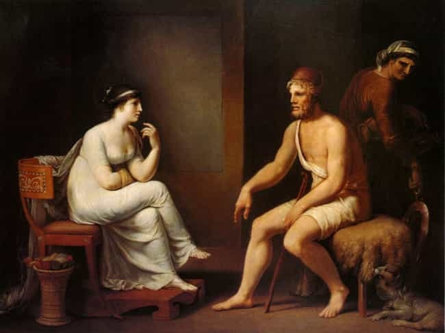 Odysseus Waited Out His ... is listed (or ranked) 1 on the list The Most Satisfying Revenge Stories In Greek Mythology
