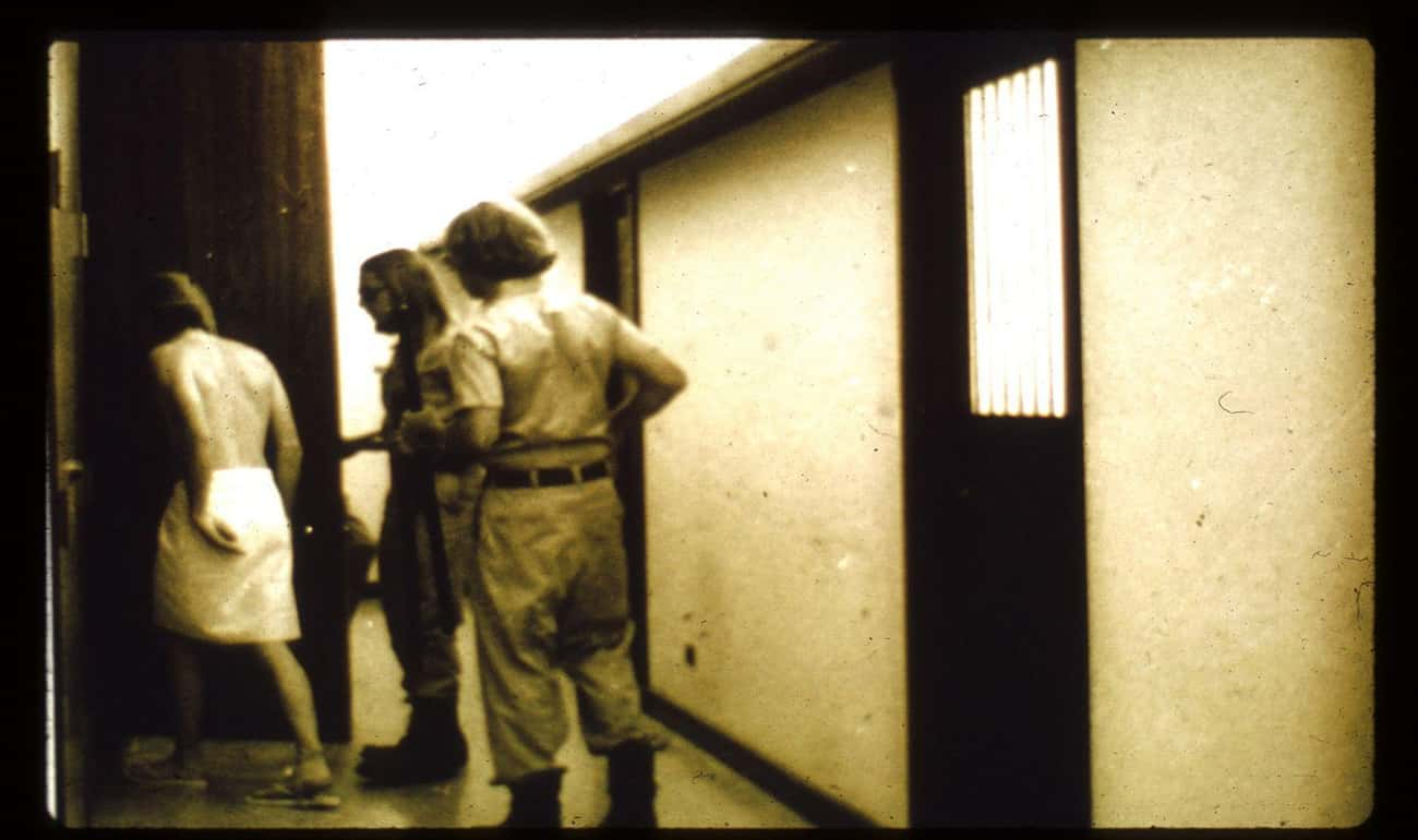 Day Three: The Guards Divide T is listed (or ranked) 3 on the list The Day-By-Day Breakdown Of What Happened During The Stanford Prison Experiment