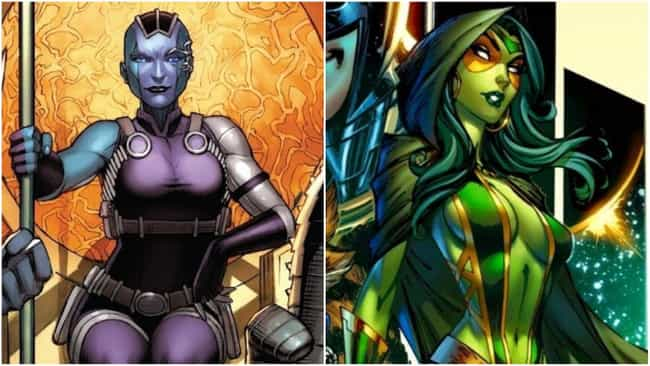 She And Gamora Are Only Sister... is listed (or ranked) 3 on the list 14 Things You Didn't Know About Nebula From The Comics