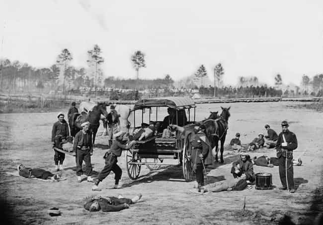 After Ambulance Drivers Fled, ... is listed (or ranked) 3 on the list What It Was Actually Like To Fight In The Civil War