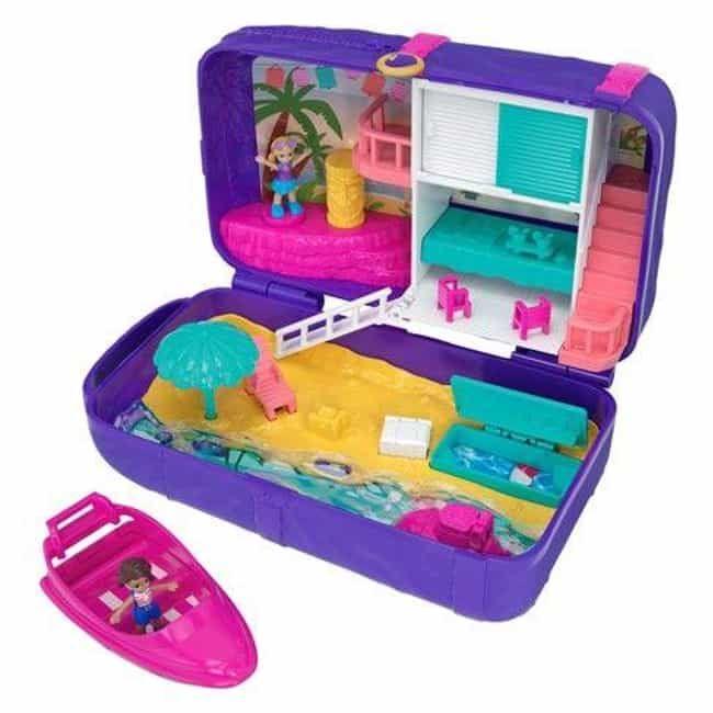 Polly Pockets is listed (or ranked) 3 on the list The Best '90s Toys Every Girl Wanted