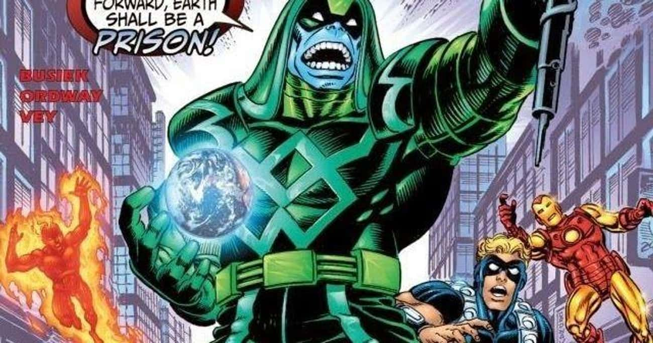 He Was A Warden When Earth Was is listed (or ranked) 1 on the list 13 Things From The Comics You Didn't Know About Ronan The Accuser