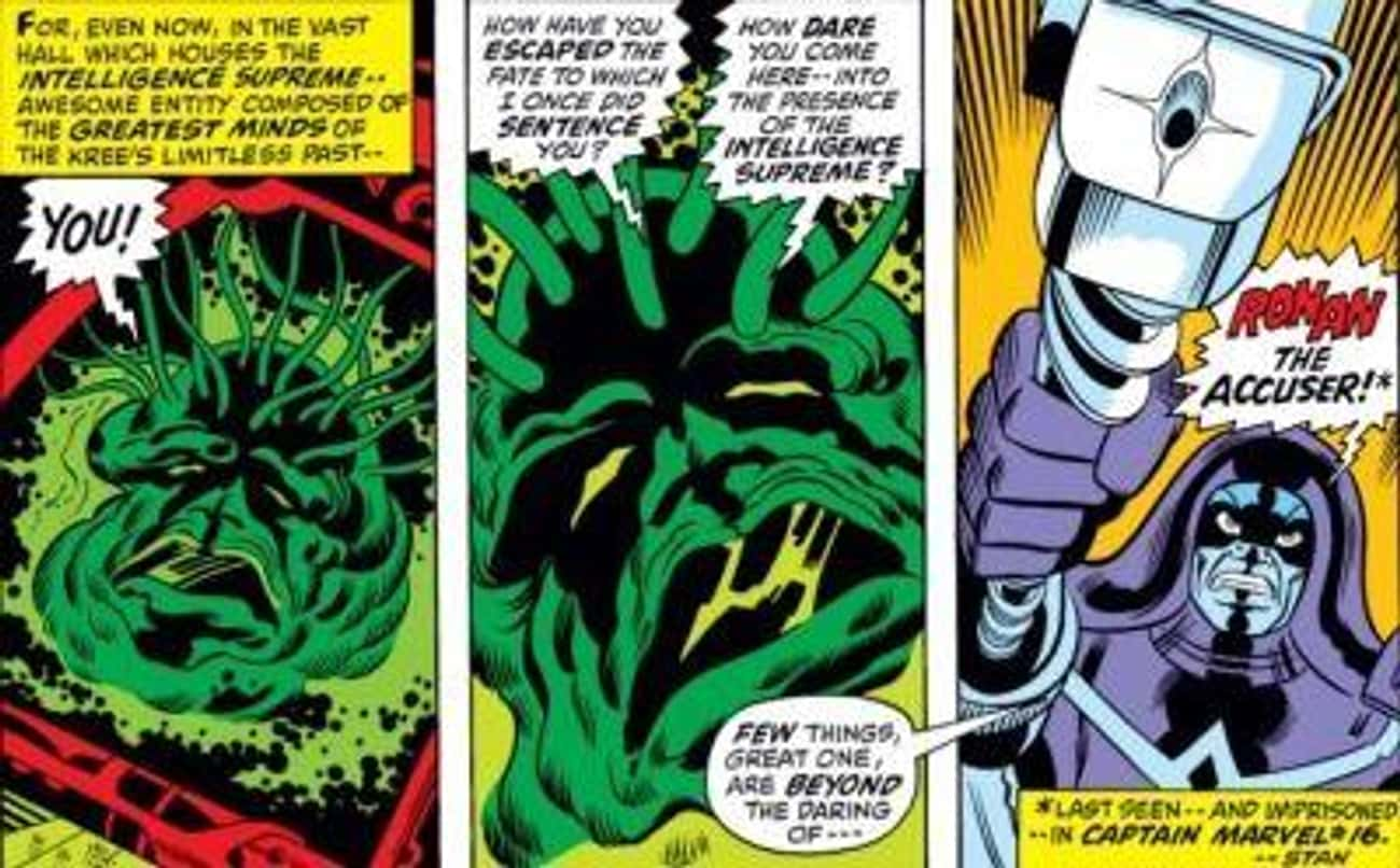 He Tried To Overthrow The Supr is listed (or ranked) 2 on the list 13 Things From The Comics You Didn't Know About Ronan The Accuser