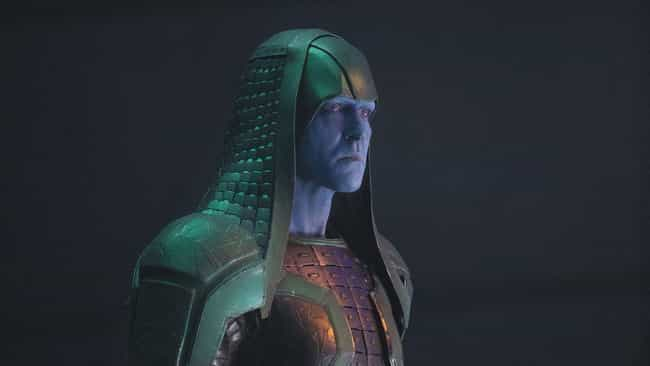 He's Part Of The Kree Aristocr... is listed (or ranked) 4 on the list 13 Things From The Comics You Didn't Know About Ronan The Accuser