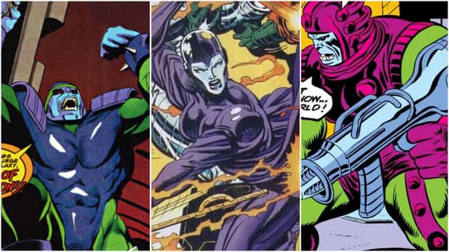 Her Family History Is Uncertai... is listed (or ranked) 2 on the list 14 Things You Didn't Know About Nebula From The Comics