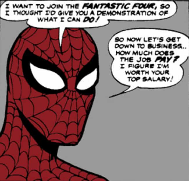 Spider-Man Met The Fantastic F... is listed (or ranked) 3 on the list The Comic Book History Between Spider-Man And The Fantastic Four