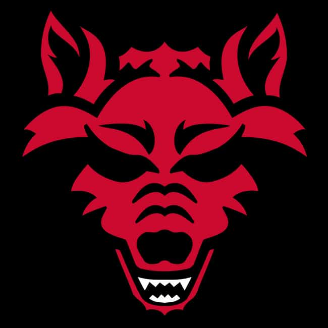 Arkansas State Red Wolves is listed (or ranked) 4 on the list The Best Sun Belt Football Teams