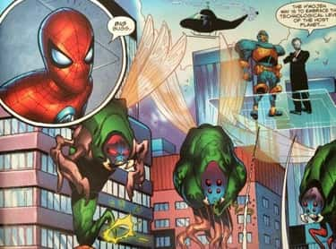 Spider-Man And The Fantastic Four Worked Together To Stop An Alien Invasion