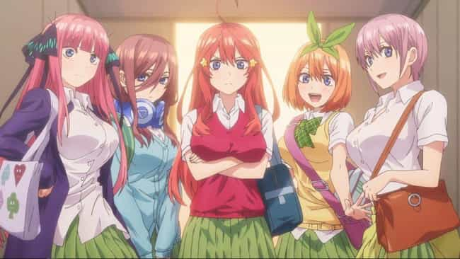 The Quintessential Quintuplets is listed (or ranked) 1 on the list The Best Anime Like We Never Learn: BOKUBEN