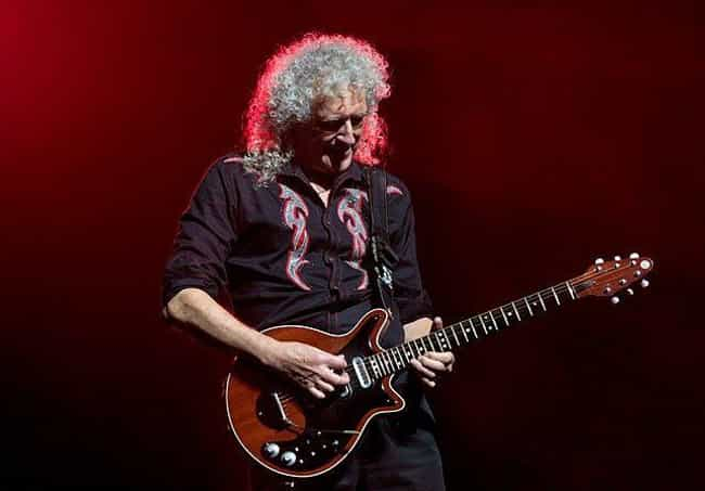 Brian May's Red Special ... is listed (or ranked) 4 on the list The Most Famous Guitars Of All Time