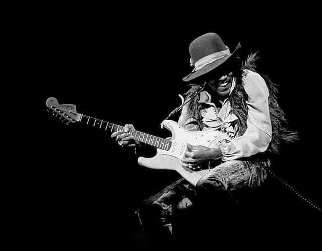 Jimi Hendrix's Stratocaster is listed (or ranked) 1 on the list The Most Famous Guitars Of All Time