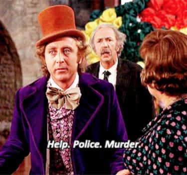 Wonka Is Completely Unconcerne is listed (or ranked) 2 on the list There's A Theory That 'Willy Wonka & the Chocolate Factory' Is Actually About A Tormented Killer