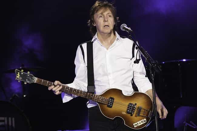 Paul McCartney's Hofner Bass is listed (or ranked) 4 on the list The Most Famous Guitars Of All Time