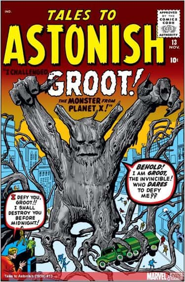 Groot Is A Floral Colossus Fro is listed (or ranked) 1 on the list The Comic Book Backstory Behind How Groot Went From Tree Monster To Guardian Of The Galaxy
