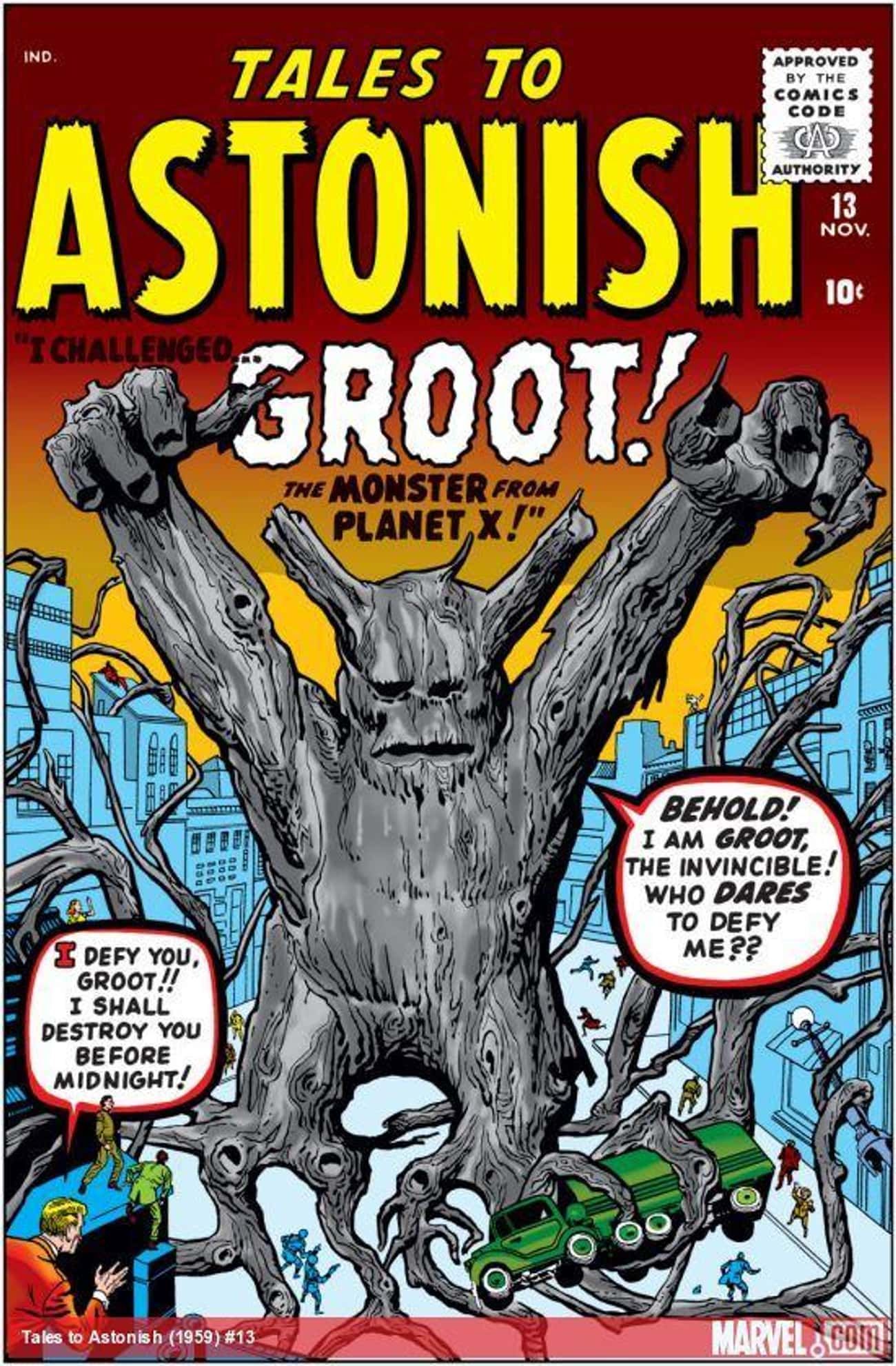 Groot Is A Floral Colossus From The Planet X