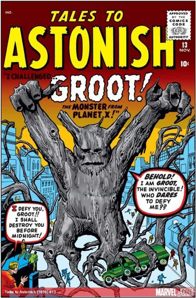 Groot Is A Floral Coloss... is listed (or ranked) 1 on the list The Comic Book Backstory Behind How Groot Went From Tree Monster To Guardian Of The Galaxy