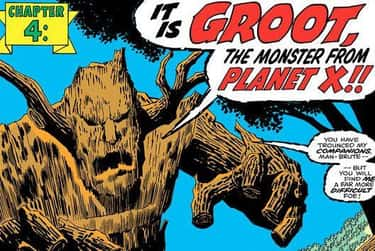 His Ability To Speak Fluent En is listed (or ranked) 2 on the list The Comic Book Backstory Behind How Groot Went From Tree Monster To Guardian Of The Galaxy