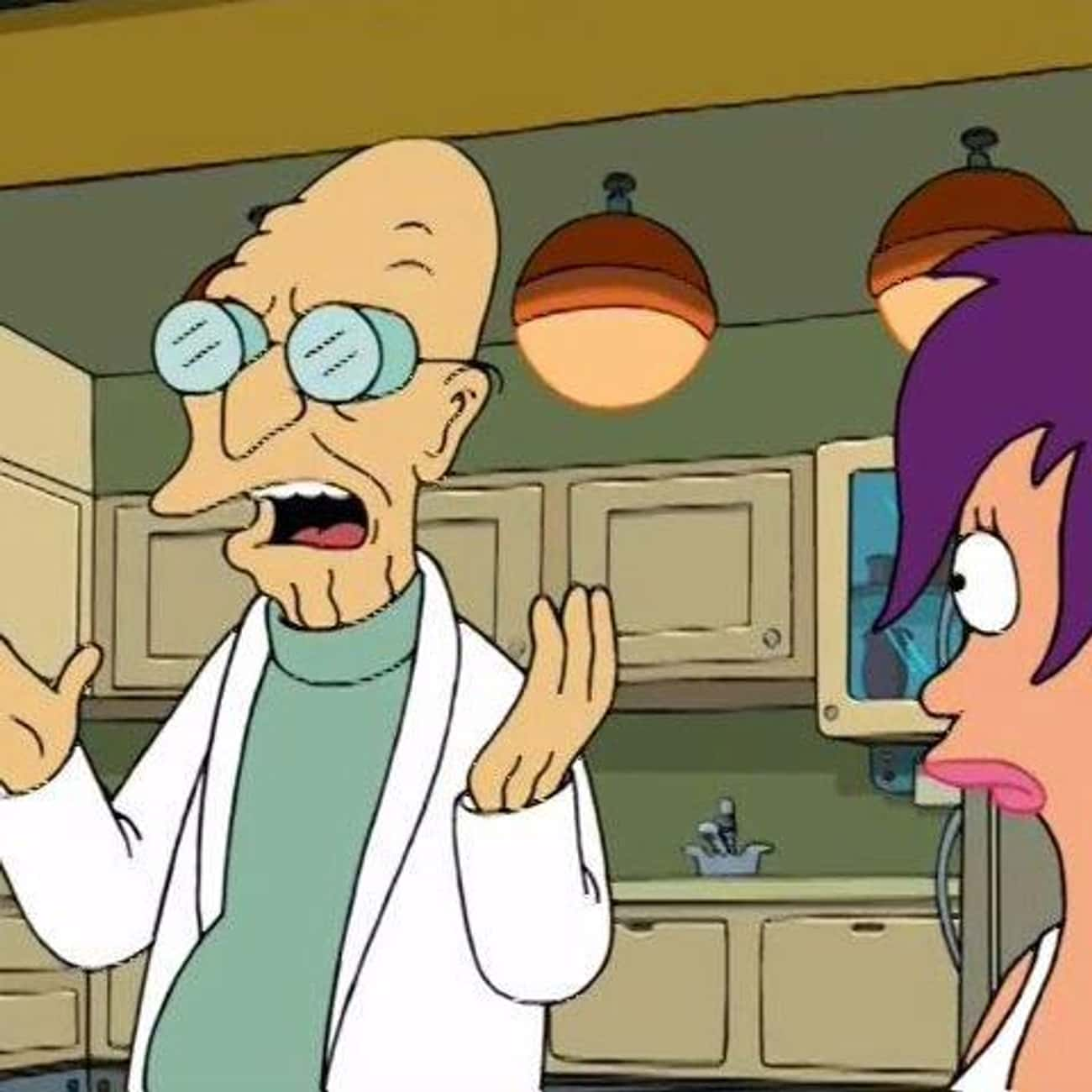 Hitler's Brain is listed (or ranked) 3 on the list The Best Professor Farnsworth Quotes from 'Futurama'