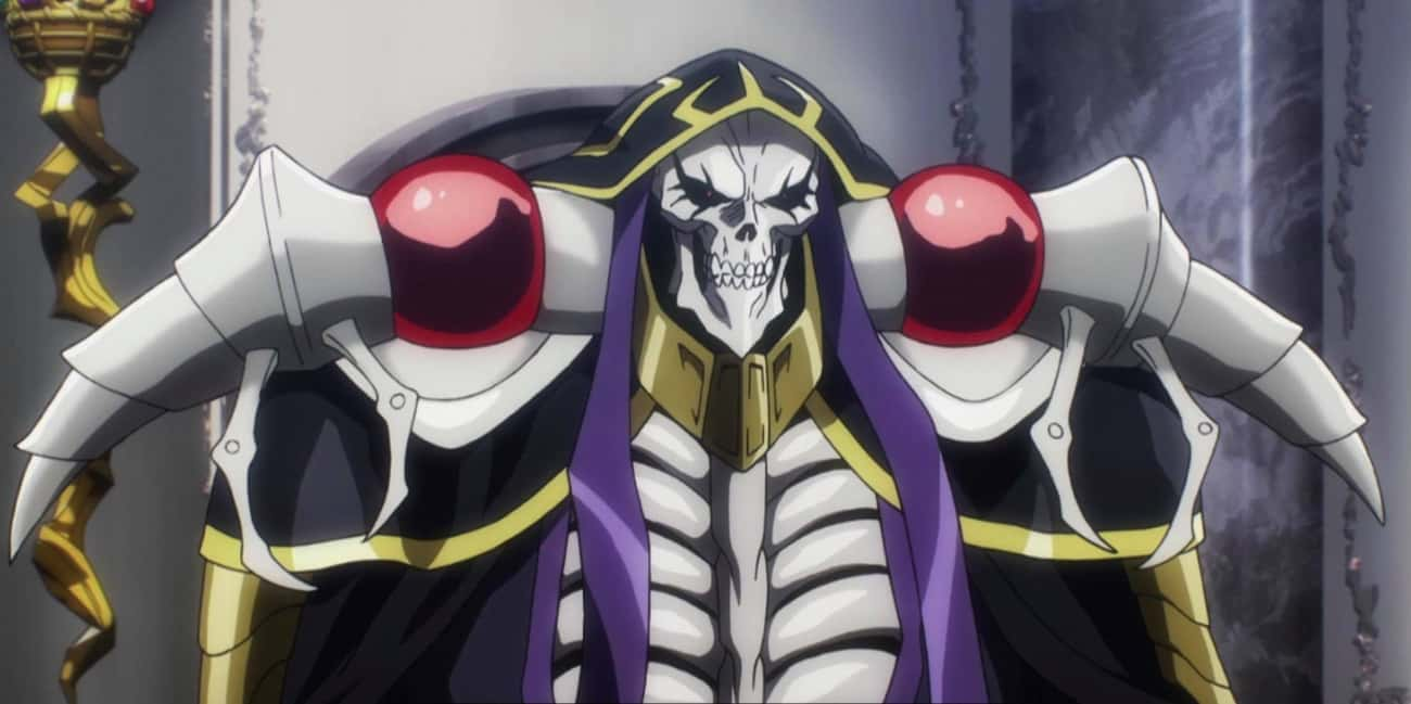 Why Not Stay Until The End?  is listed (or ranked) 4 on the list The Best Overlord Anime Quotes