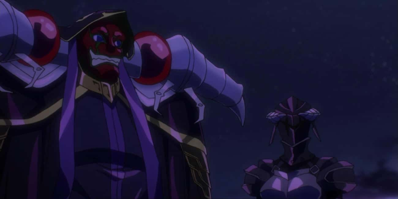 Who In The World Are You?  is listed (or ranked) 2 on the list The Best Overlord Anime Quotes