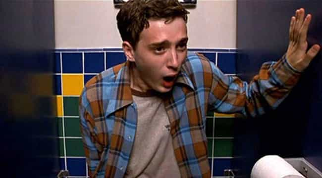 Using The School Bathroo... is listed (or ranked) 4 on the list 'American Pie' Is A Nightmarish Vision Of Late '90s High School Life