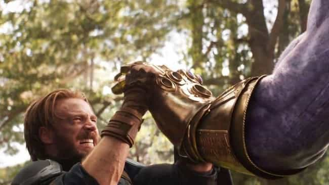 Thanos Goes Out Of His Way Not... is listed (or ranked) 1 on the list In Defense Of Thanos: Why Fans Are Rooting For The Mad Titan