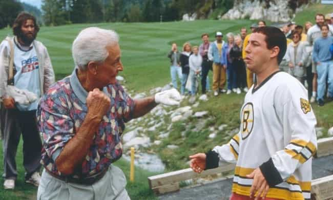 Happy's Encounter With Bob Bar... is listed (or ranked) 4 on the list 'Happy Gilmore' Is Secretly A Drama About Dealing With Loss And Grief