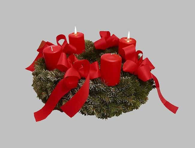 Wreaths Represent The Changing... is listed (or ranked) 3 on the list Pagan Symbols That Have Made It Into Modern Christianity