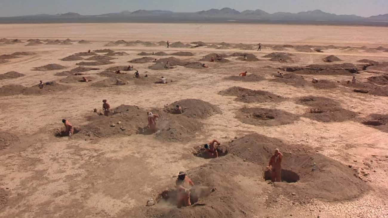 Camp Greenlake Seems To Be Cur is listed (or ranked) 4 on the list The Desert Hellscape Of 'Holes' Really Represents Purgatory