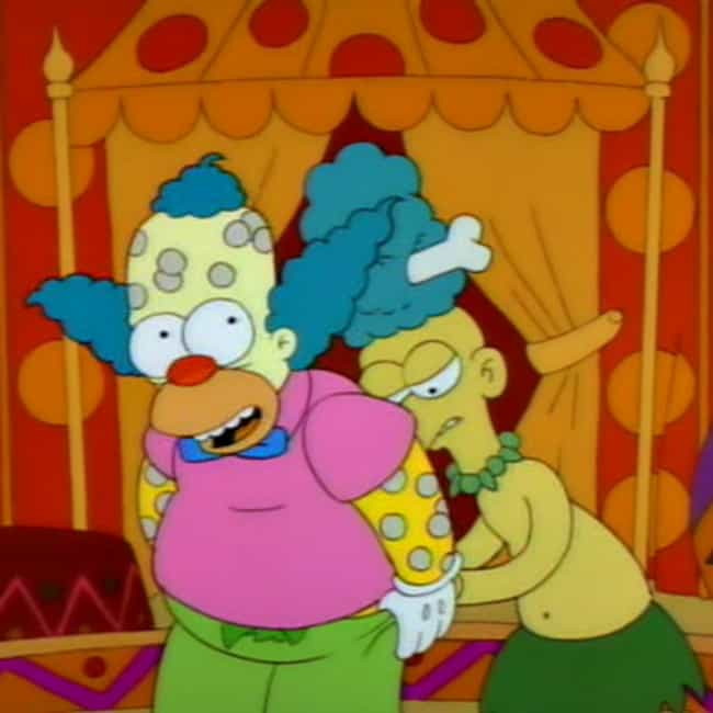 Space On My Butt is listed (or ranked) 4 on the list The Best Krusty the Clown Quotes