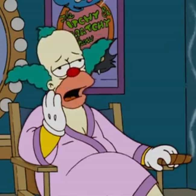 Gave Me A Kidney is listed (or ranked) 3 on the list The Best Krusty the Clown Quotes